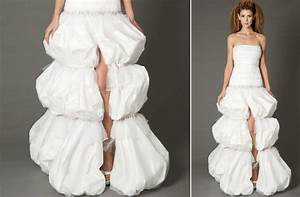 ugly wedding dresses 2012 too many poufs onewedcom With ugly wedding dresses