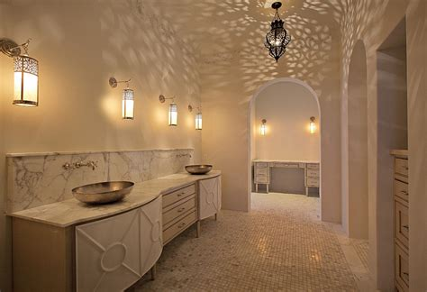 colonial home design moroccan bathrooms with a modern flair ideas inspirations
