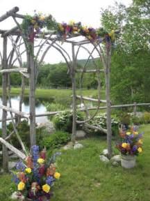 Wooden Wedding Arbor