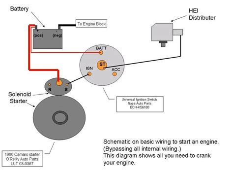 wire  start  engine