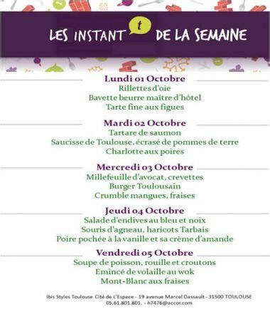 menu semaine cuisine az le menu de la semaine proposé par le chef du restaurant l