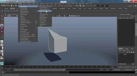 maya monday   move components  edges
