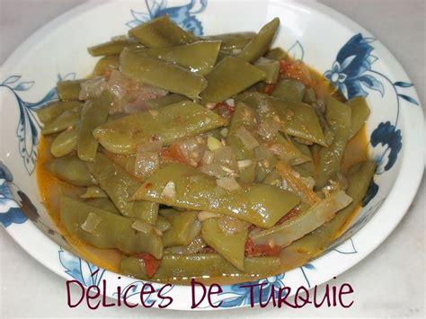 cuisiner les haricots mange tout haricots verts frais à l 39 huile d 39 olive zeytinyağlı taze