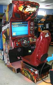 Raw Thrills The Fast And The Furious Tokyo Drift Arcade Machine Game For Sale