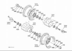 Kubota Rtv 900 Rear Axle Diagram
