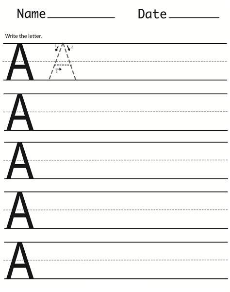 capital letter worksheets printable activity shelter