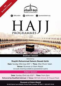 Quwwat-ul-Islam – Hajj 2017 Programmes