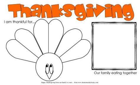 free printables a better me day by day 296   thanksgiving activity placemat for kids more family activities at www abettermedaybyday