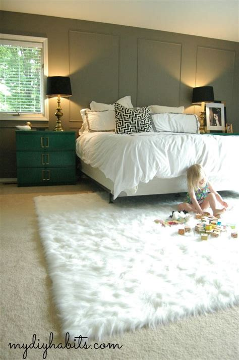 faux fur rug simple home projects faux fur rug fur
