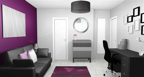 decoration chambre best idee deco chambre gris et mauve gallery awesome