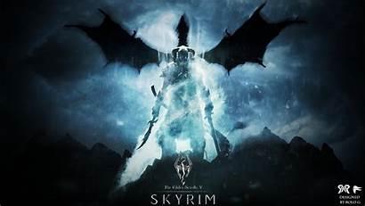 Skyrim Wallpapers Pc Dragonborn Gamers