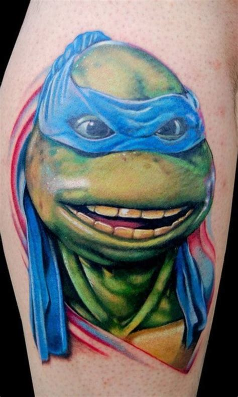 magnificent ninja turtles tattoos