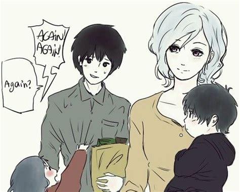 Tokyo Ghoul//touka, Kaneki, And Their Children