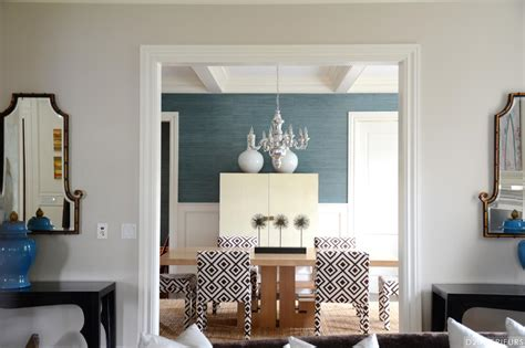 entry  transitional dining room  patterned chairs hgtv