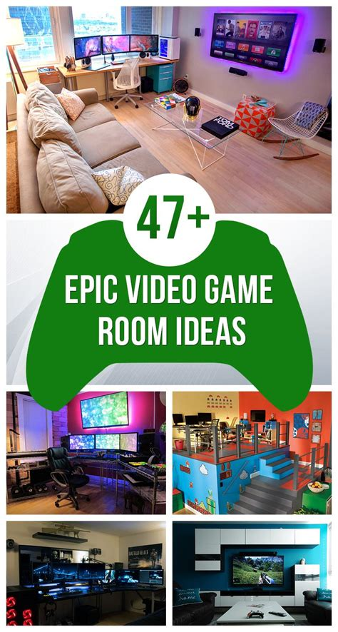 Best 25 Gaming Room Setup Ideas On Pinterest Gaming