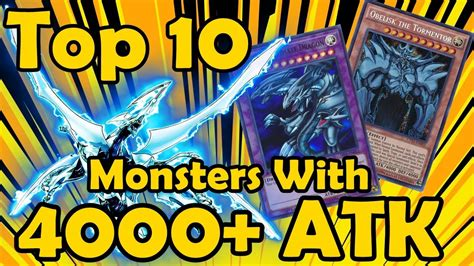 yugioh attack monsters