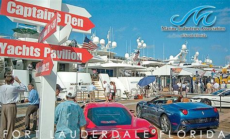 53rd Annual Fort Lauderdale International Boat Show October 25 by Taiwan Trade Center Miami Taiwanese Delegation To