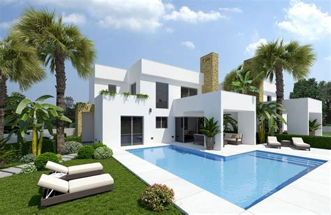 infografia de chalet en torrevieja infografia 3d perspectivas 3d de viviendas render de