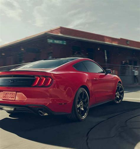2018 Ford® Mustang Sports Car  Photos, Videos, Colors