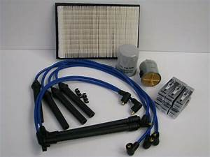 Compete Tune Up Kit For Nissan Quest Spark Plug Wires