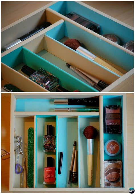 diy kitchen utensil drawer organizer cutlery tray home organization ideas picture 8768