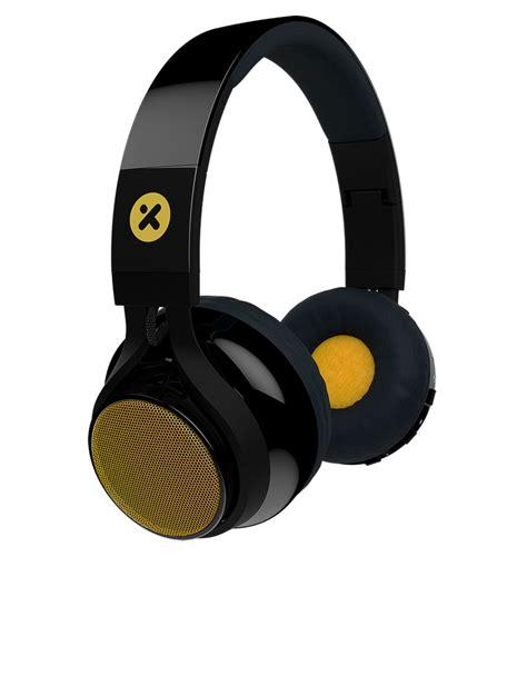 x mini evolve wireles bluetooth speaker headphones on