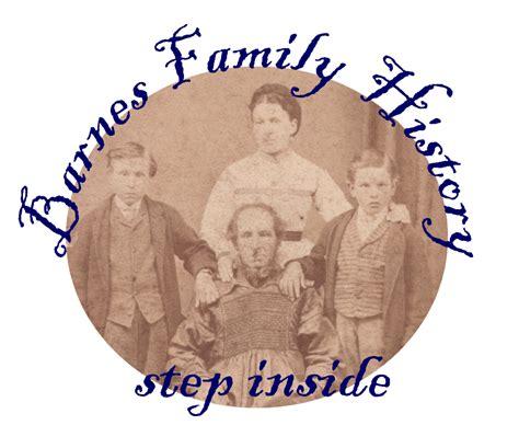 Barnes Family History From 1689