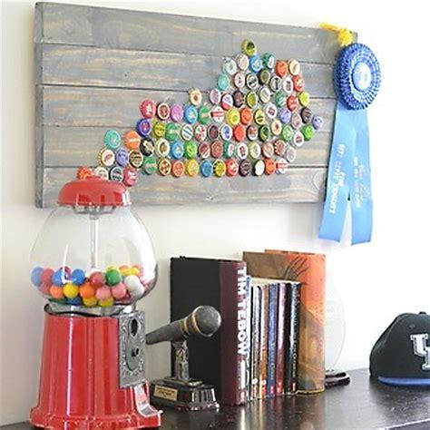 home dzine crafts ideas craft ideas  bottle caps