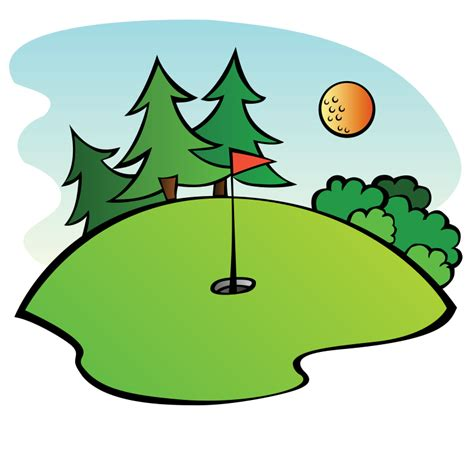 Golf Clip Free Clipart Golf Course Pianobrad