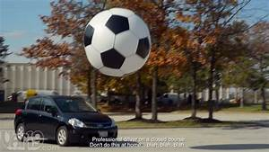 6-Foot Giant Inflatable Soccer Ball - YouTube