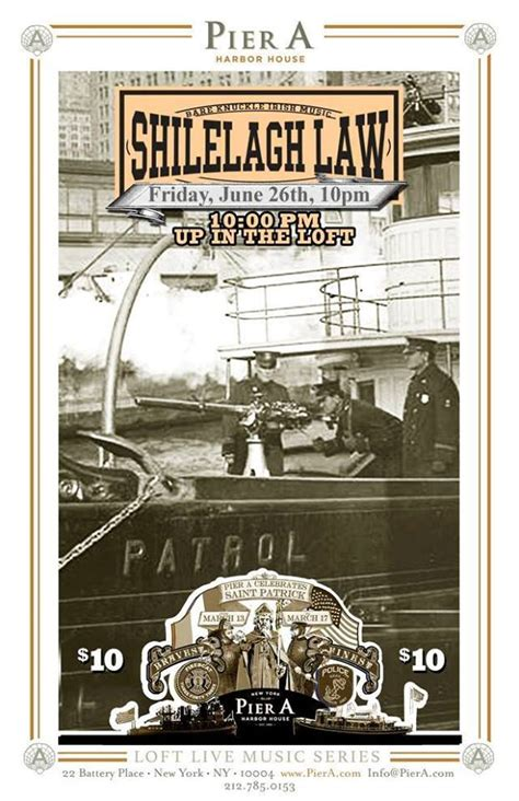Pier Law by Shilelagh Law At Pier A Murphguide Nyc Bar Guide