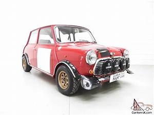 An Incredible Classic Mk2 Mini Cooper S Rally Works