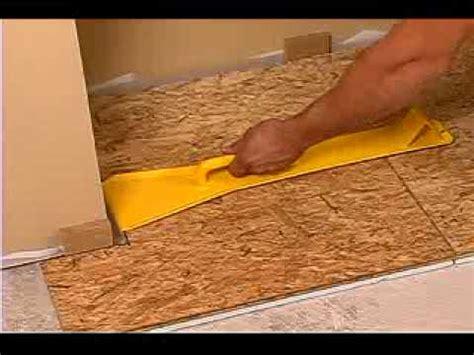 install subfloor laminate flooring install laminate flooring over wood subfloor