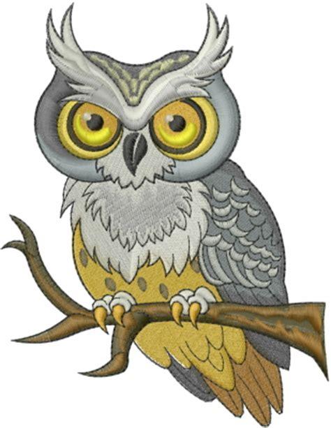 owl embroidery design  machine embroidery designs grand slam designs