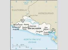 About El Salvador Location, Flag, Map, Weather