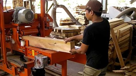 wood mizer hr resaw youtube