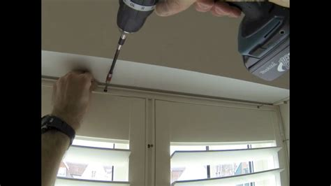 fitting wooden diy shutters   tposts    section window youtube