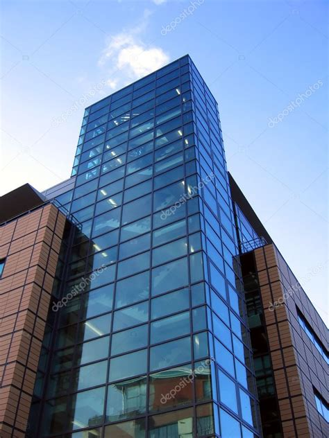 Modern Office Building in Liverpool Stock Photo