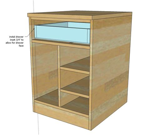 Kitchen Base Cabinet For Desk by White Build A Cpu Base Cabinet For Desk Featured On