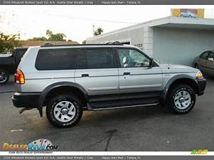 Sport 2000 Gray : 2000 mitsubishi montero sport xls 4x4 seattle silver metallic gray photo 3 ~ Gottalentnigeria.com Avis de Voitures