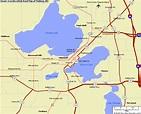 Madison Map - ToursMaps.com