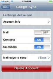 how to change the air sync settings on iphone sync brings the air calendar and contacts sync