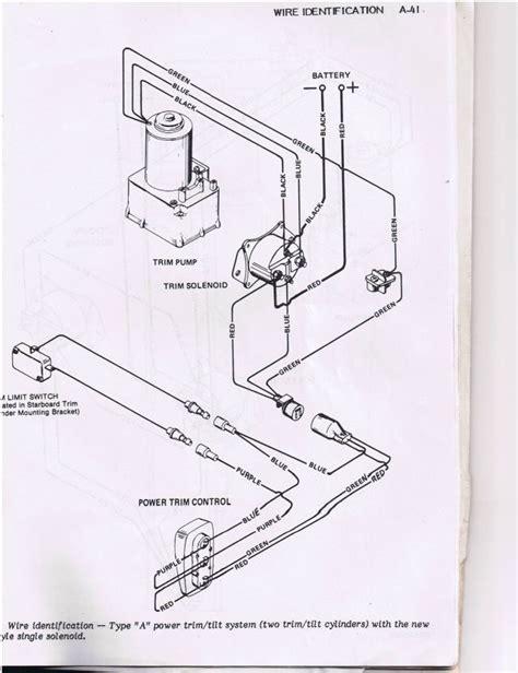 Power Trim Wiring Diagram by Power Trim Tilt For 1978 Merc 115hp Inline 6 Page 1