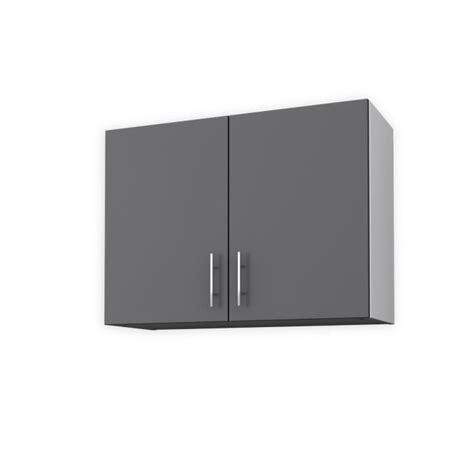 element de cuisine gris obi meuble haut de cuisine l 80 cm gris mat achat vente éléments haut obi meuble haut 80