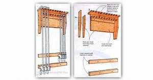 Wood Storage Rack Woodworking Plans