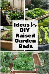 Ideas For Diy Raised Garden Beds