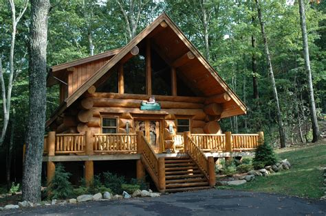 Mountain Log Cabins by Gatlinburg Cabin Rentals History Of Log Cabins In The