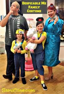 despicable me costume diy ideas for the family samicone