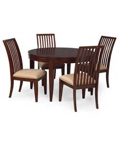prescot dining room furniture 5 piece set round table