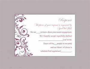 Diy wedding rsvp template editable text word file download for Wedding rsvp cards free download